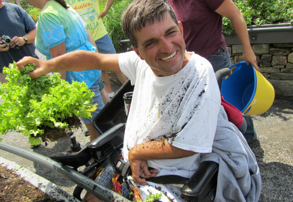 Maine Gardener Therapy In The Garden Produces Rewards For All The Senses Portland Press Herald