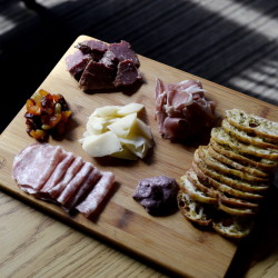 The charcuterie plate at Marché Kitchen and Wine Bar.