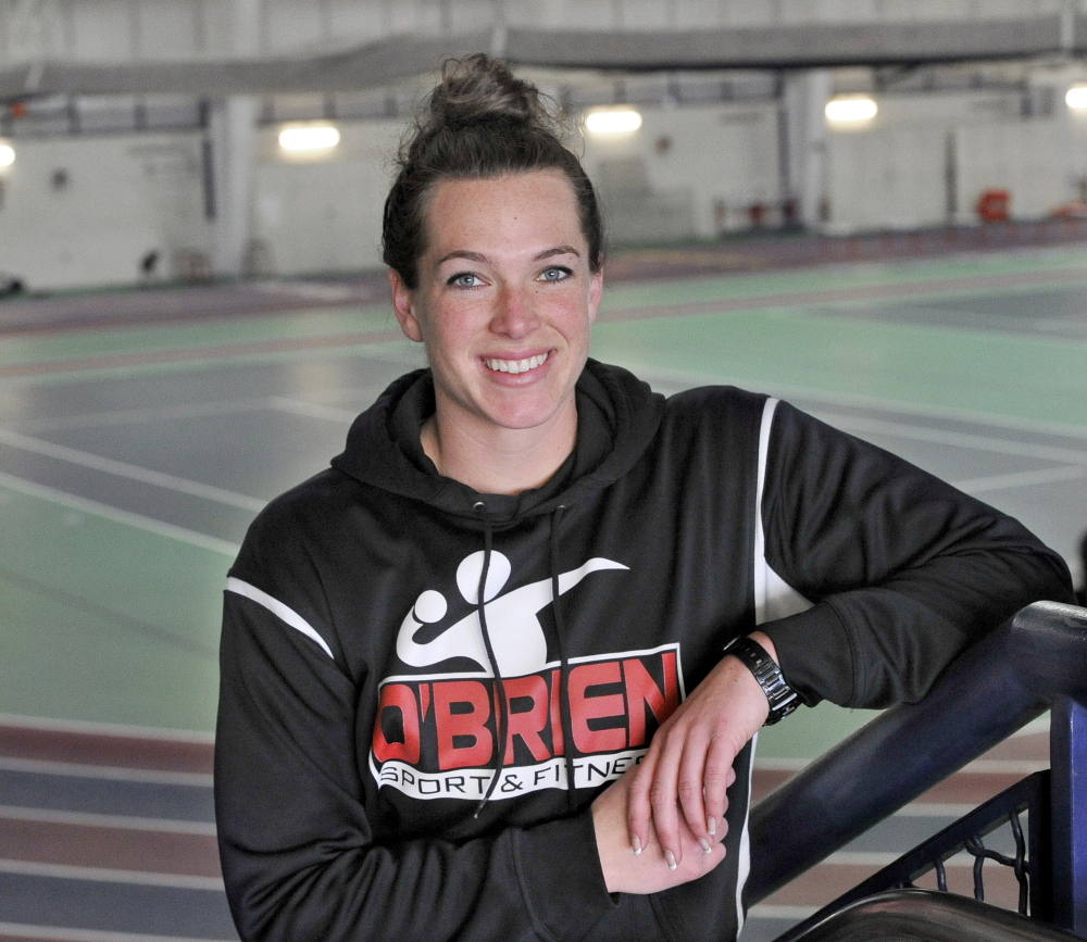 Former Greely High Shot Putter Becky O'Brien Back On Track