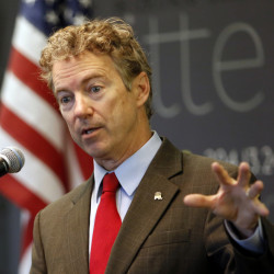 Sen. Rand Paul of Kentucky, a Republican presidential candidate, plans a campaign rally in Freeport next week.
