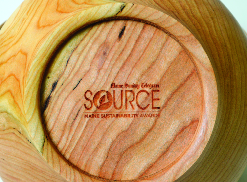 Artist Jeff Raymond's Source Awards bowls began with a search for cherry wood.