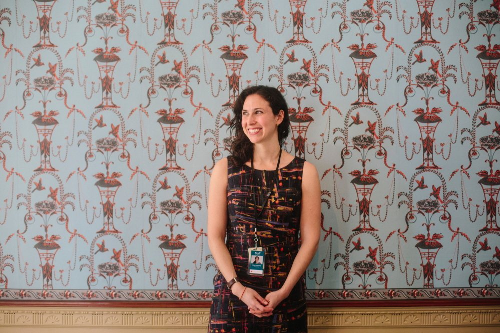 Diana Greenwold is the first decorative arts specialist on staff at the Portland Museum of Art since 1994.