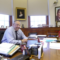 "Political observers say Gov. Paul LePage, in his office at the State House in Augusta, isn't the first chief executive in Maine to push the limits of his power; he just isn't discreet about it. People might not always like what he stands for, said University of Maine at Farmington political science professor Jim Melcher, but they ""really aren't wondering what he stands for."""