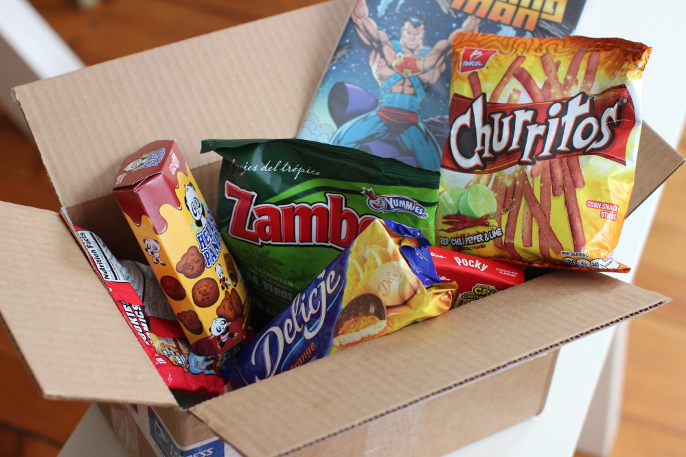snack services mail subscribers munchies of choice and surprises