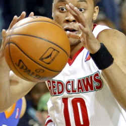 Tim Frazier might have helped the Red Claws in the playoffs, but he was signed by the NBA Portland Trail Blazers with three games left in the Red Claws' regular season.
