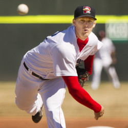 Justin Haley didn't dominate Wednesday for the Portland Sea Dogs, but he delivered a solid start for a team that needed one, and rebounded from a subpar opening outing of the season.