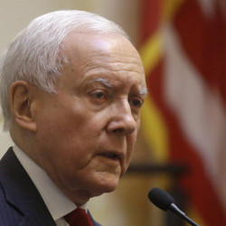 Senate Finance Committee Chairman Sen. Orrin Hatch, R-Utah, and other top lawmakers struck a bipartisan agreement Thursday to allow President Obama to negotiate trade deals subject to a yes-or-no vote from Congress. Hatch said he expects the committee to consider the legislation next week. 2015 Associated Press file photo