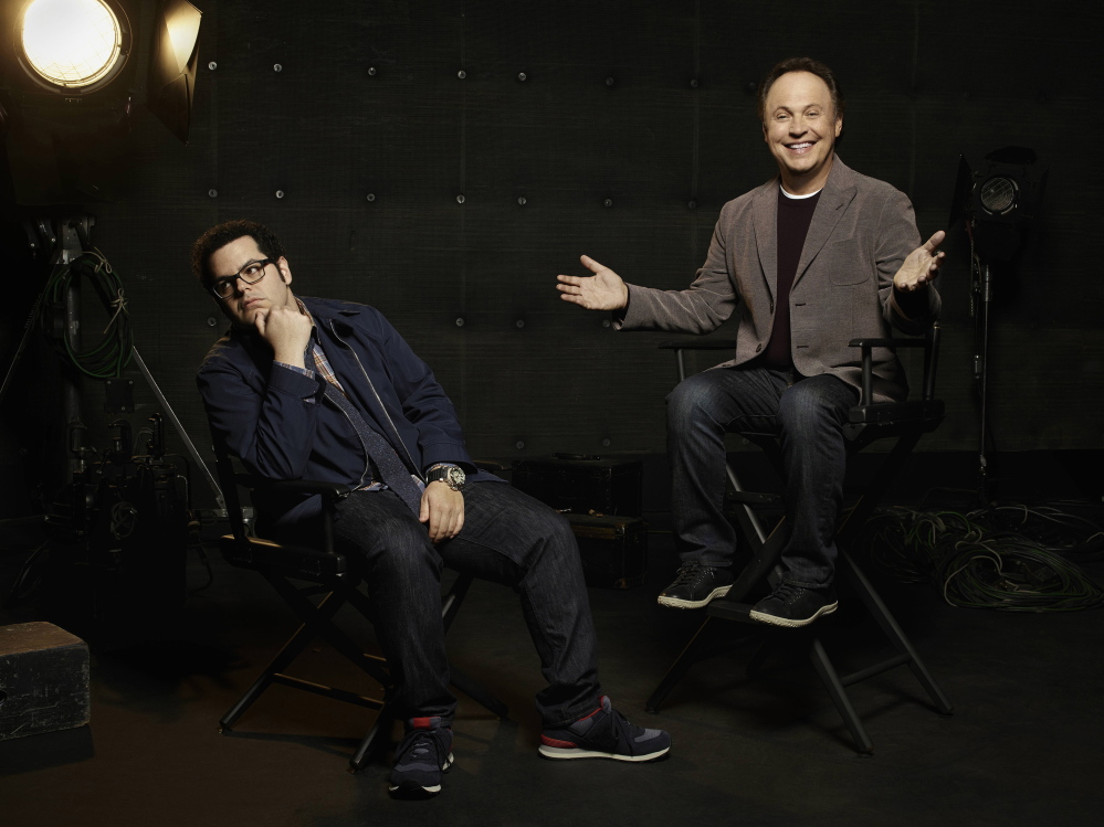 "Josh Gad and Billy Crystal star in ""The Comedians."""