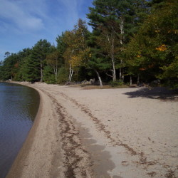 Donnell Pond near Ellsworth contains hidden gems – its hike-in and paddle-to camping sites can give you the sensation you are 1,000 miles from civilization.