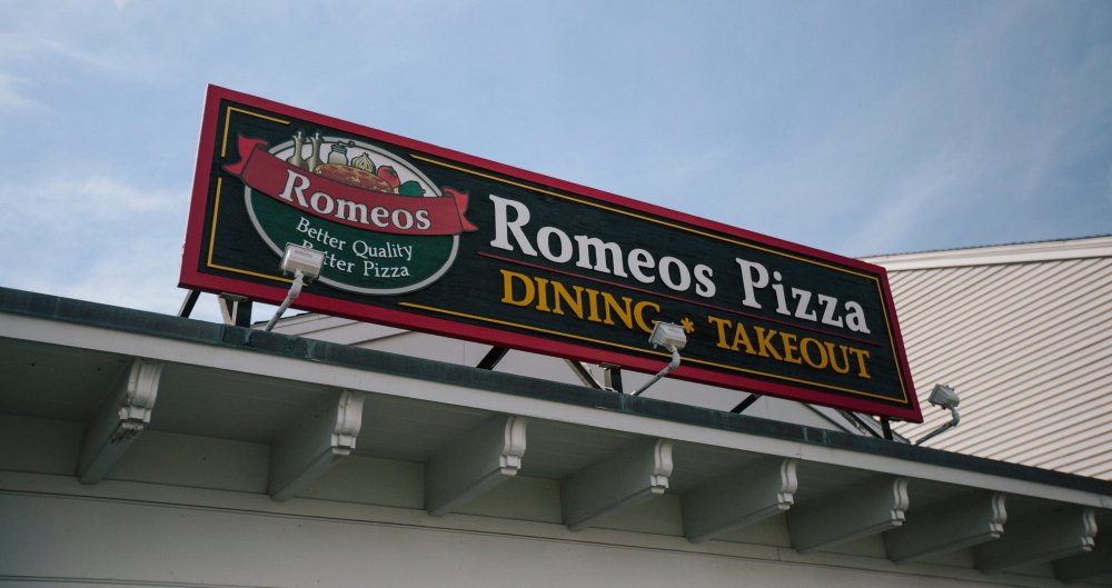 Romeos in Yarmouth sells a $14-inch cheese pizza for $10.99.