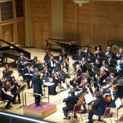 The Portland Youth Symphony Orchestra, conducted by Robert Lehmann. Courtesy photo