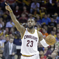 LeBron James will lead the Cavs into the playoffs against the Boston Celtics starting on Sunday.
