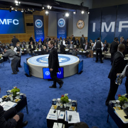 International Monetary and Financial Committee (IMFC) meets at the World Bank-International Monetary Fund annual meetings in Washington, Saturday.