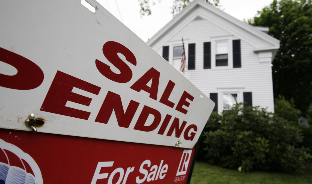 The median price for homes sold in Maine in January, February and March was $165,500, up 1.2 percent from the same three-month period of 2014.