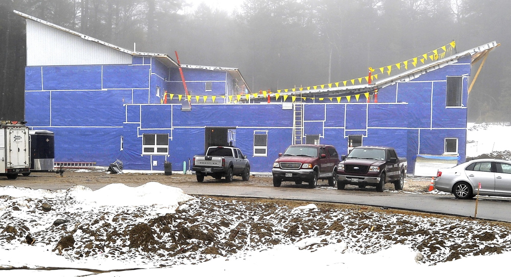 The Friends School of Portland has airtight construction and a heat  pump system powered by a solar array. Even the trees cleared took solar power into account.