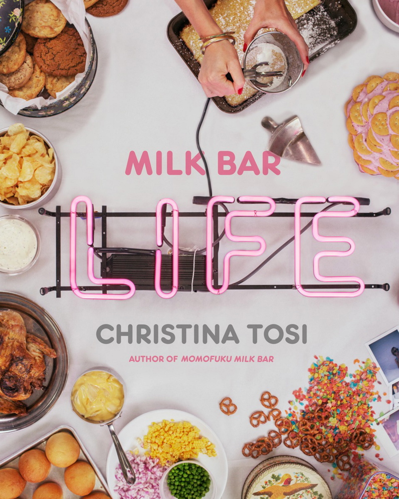 "Christina Tosi's new cookbook ""Milk Bar Life: Recipes and Stories"" includes savory as well as sweet recipes."