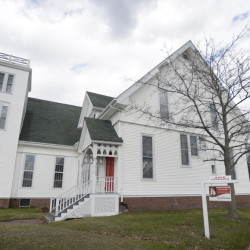 Located at Forest and Pleasant avenues in Portland, Clark Memorial United Methodist Church  was put on the market in November with an asking price of $600,000. A sale is pending to an undisclosed buyer.