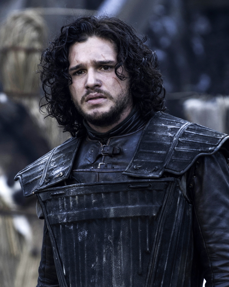 """Kit Harington appears in a scene from """"Game of Thrones"""" in this image released by HBO."""