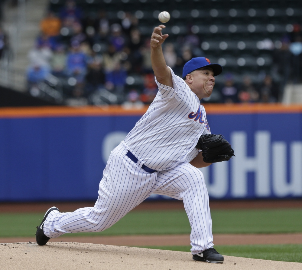 Mets starter Bartolo Colon improved to 4-0 with New York's 6-3 victory over Atlanta. The Mets have won 11 in a row, tying a franchise best.