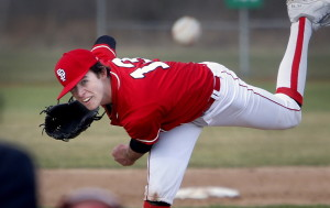 Henry Curran was in fine form in South Portland's season opener Friday afternoon, limiting Thornton Academy to one hit and three walks in six innings as the Red Riots earned a 7-0 victory.