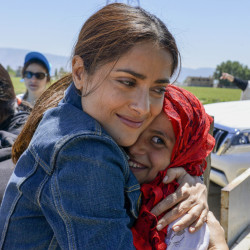 "Salma Hayek's latest project is ""The Prophet,"" an animated movie based on a book written in her ancestral homeland of Lebanon. Hayek says the film is ""a love letter to my heritage."""