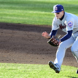 Two years after his brother Garin was making plays on the infield at Hadlock Field as a member of the Portland Sea Dogs, Gavin Cecchini is in Portland as a prospect of the New York Mets. Gavin, a 21-year-old shortstop, was a first-round pick in the 2012 draft.