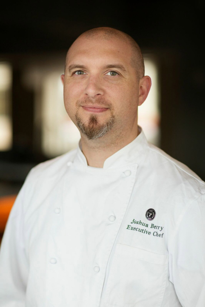 Maine native Joshua Berry, who will be executive chef at The Press Hotel's Union Restaurant, worked with Mark Gaier and Clark Frasier to develop the menus.