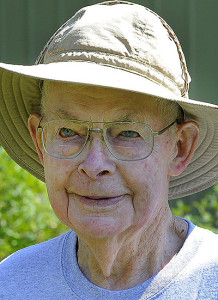 Stan Brown, a 94-year-old beekeeper, changed his will to give ownership of the farm to Karen Thurlow-Kimball.