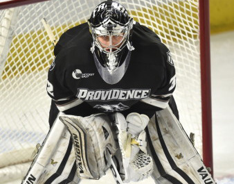 NCAA: Frozen Four - Providence Tops Flat Omaha Team In First Semi