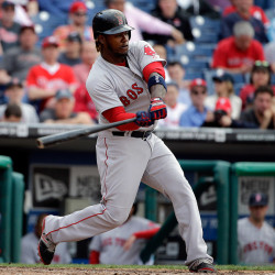 Boston's Hanley Ramirez hits a grand slam during the ninth inning of the Opening Day game against the Phillies on Monday in Philadelphia.
