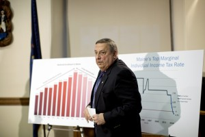 Gov. LePage's proposed changes to taxes and the biennial budget have not yet gained traction in the Legislature as lawmakers debate the best way to formulate a two-year plan before the June deadline.