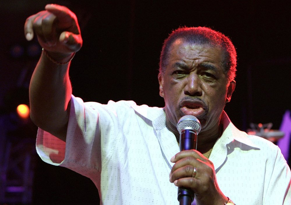 Ben E. King performs on stage during the opening of the 40th Montreux Jazz Festival at the Stravinski hall in Montreux, Switzerland, in 2006. King died Thursday at 76, his publicist said.