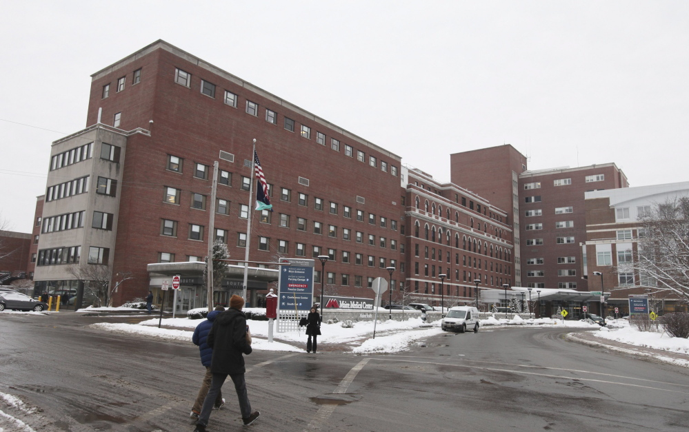 Maine Medical Center is seen Monday, Jan. 12, 2015 in Portland, Maine. Please relate to story posdapogyosyg;oiusdg uosidugoidug;u g;i