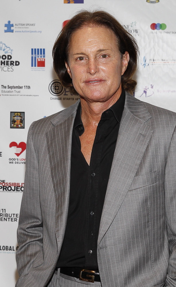 Bruce Jenner arrives at the Annual Charity Day hosted by Cantor Fitzgerald and BGC Partners in 2013.