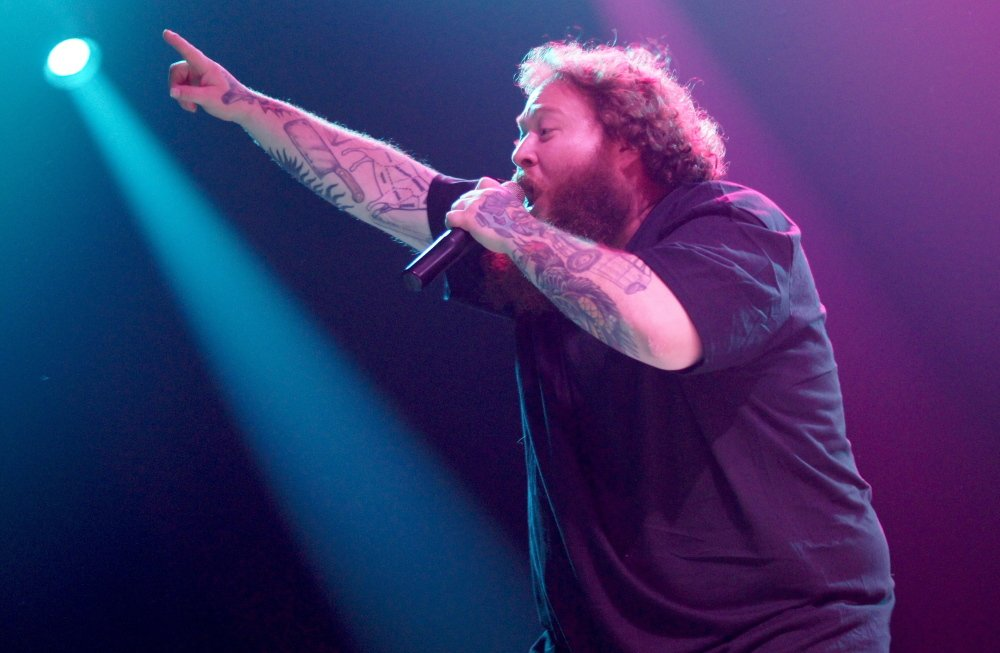 Action Bronson at the State Theatre on Wednesday.