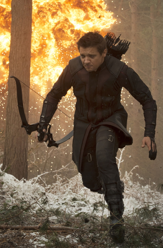 "Jeremy Renner in ""Avengers: Age Of Ultron."""