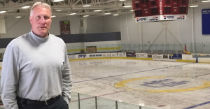 Ed Harding took the reins of the USM hockey team on an interim basis last December following the departure of Jeff Beaney, and now is fully in charge.