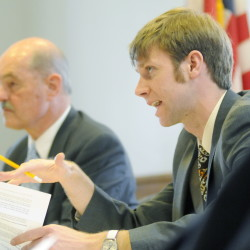 """Rep. Adam Goode, D-Bangor, said before Wednesday's vote by the Taxation Committee that, """"I feel like we're not being given the full story on what would happen if this would pass."""""""