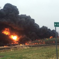 An oil train derailment Wednesday in Heimdal, N.D., is the fifth fiery accident since February involving suspected substandard tank cars.