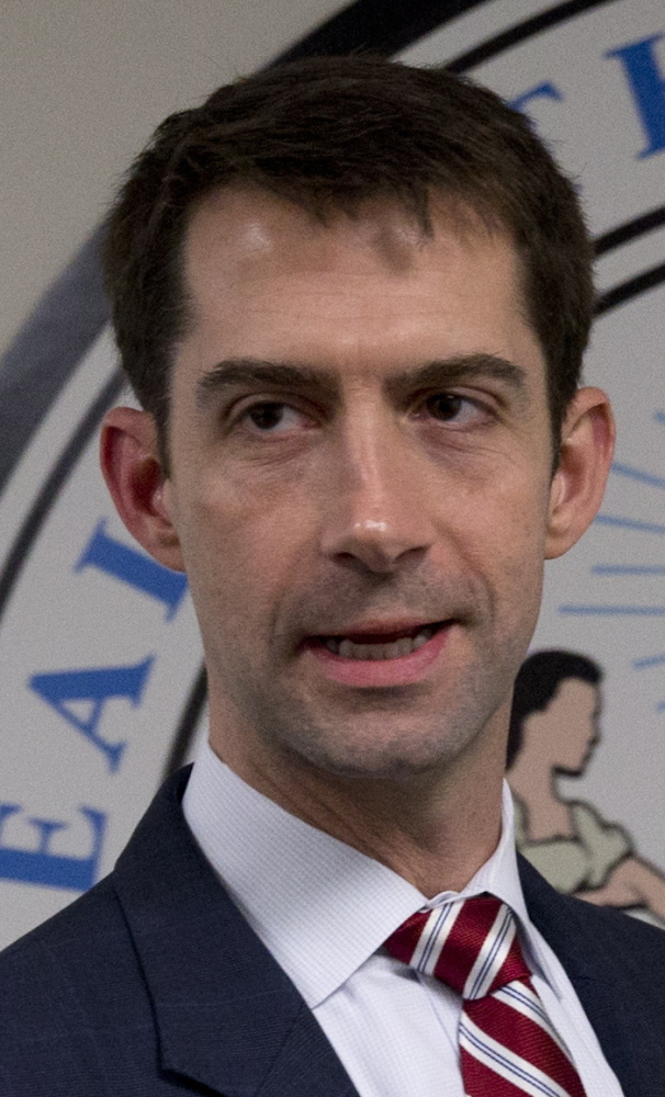 Sens. Tom Cotton, above, and Marco Rubio, below, failed to amend the Iran Nuclear Agreement Review Act.