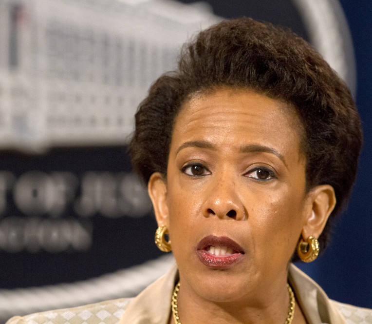 Attorney General Loretta Lynch announces a civil rights investigation of the Baltimore Police Department during a news conference Friday in Washington. Lynch said the Justice Department will conduct a broad investigation into the police force in search of practices that are unconstitutional.