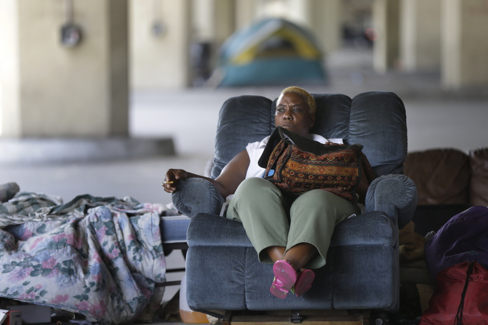 New Orleans' chronic homeless, who last year were ordered to evacuate the bridge they were living under, would be the first to receive housing under a plan pioneered and advocated by Sam Tsemberis, who believes that once housed, even the most desperate people have the best chance to get their lives in order.