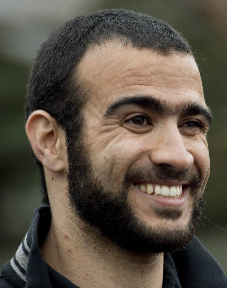 Omar Khadr, a former Guantanamo Bay prisoner, was freed last week in Edmonton, Alberta, Canada.
