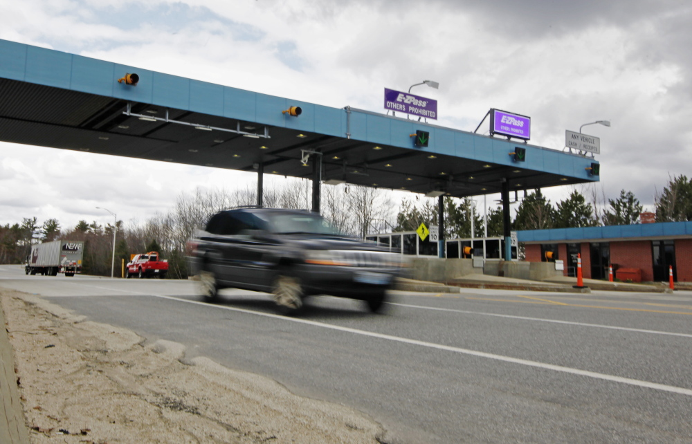 A bill before the Legislature would let the Secretary of State's Office suspend the rights of out-of-state violators to operate a vehicle on Maine roads as a penalty for not paying tolls. But first the authority would have to send a notice to the offending vehicle's owner.