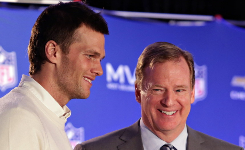 Tom Brady and NFL Commissioner Roger Goodell were all smiles when Brady was presented with the Super Bowl MVP award in February. Now, the two appear headed for a legal battle that will damage the reputations of both.