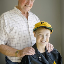 Ricky Swan was a star baseball player and athlete at Westbrook High in the mid-1960s before playing minor league ball, then joining the Portland Twilight League. Swan's grandson Jake Earl, 9, of Windham wears uniform items from Swan's first minor league team in Class A baseball for the Pittsburgh Pirates.