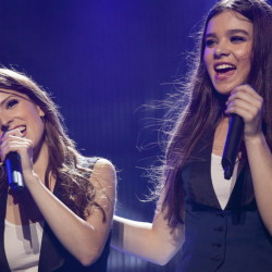 """Anna Kendrick, left, the Oscar-nominated actress and Portland native, with Hailee Steinfeld in a scene from """"Pitch Perfect 2."""""""