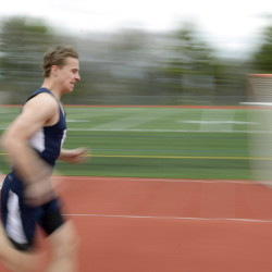 Sam Gerken, who had heart surgery days after his birth because of a rare condition, needed another one last June. He was concerned that it would limit his running for Yarmouth High, but by the end of the indoor track season he was second in the 800 at the Class B state meet.