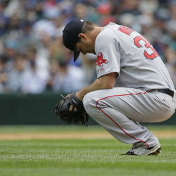 With Boston's offense struggling, Steven Wright had no margin for error Sunday in his first start of the season for the Red Sox, and he took the loss against the Seattle Mariners after giving up three runs in five innings.