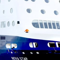 The Nova Star ferry carried 59,000 passengers last year, far short of the 100,000 passengers that had been anticipated.